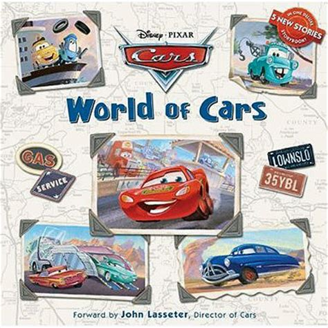 disney pixar cars the books of cars 2009 update take five a day mattel pixar diecast cars the storyteller s book full story take five a day