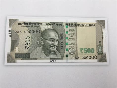 3 ways to identify new rs 500 and rs 500 currency note by rbi 15 must salient features