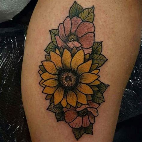 traditional sunflower tattoo 20 sunflower designs ideas design trends