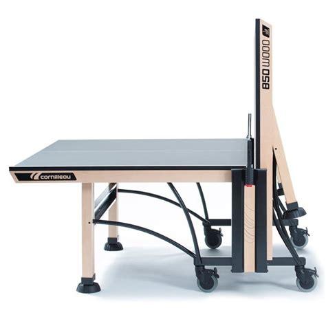 cornilleau indoor table tennis table cornilleau competition 850 wood ittf indoor table tennis table