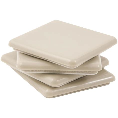 shop waxman 4 pack 2 1 2 in square adhesive backed carpet