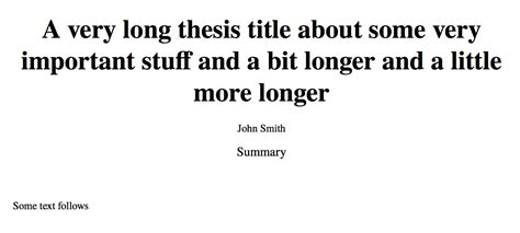 Uf Thesis And Dissertation Search by Overview Of The Different Chapters Of A Thesis