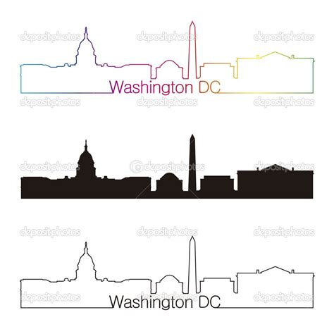 washington dc tattoo washington dc skyline silhouette search tattoos