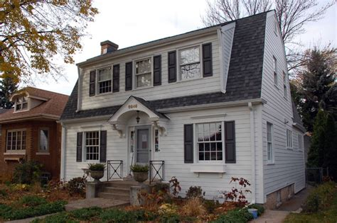 dutch colonial house style chicago il dutch colonial style home in james hardie siding traditional exterior chicago