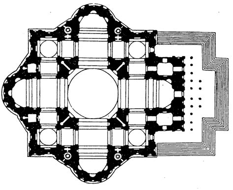 greek cross floor plan 216