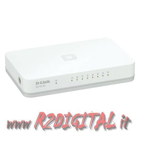 Switch Hub D Link hub switch d link 8 porte 100 1000 ethernet sdoppiatore giga lan gigabit