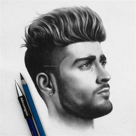 pencil drawing of hair styles of men gorgeous pencil drawings by dhruvmignon artpeople net