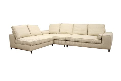 cream sectional couch twill fabric modern 3 piece modular sectional sofa pegeen