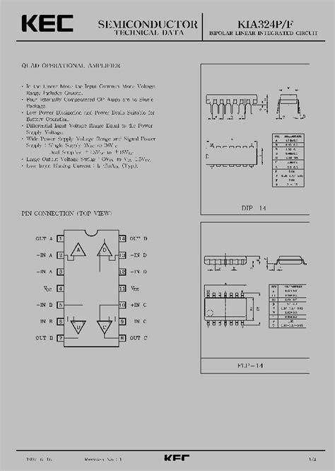 Kec Kia324p kia324p 987928 pdf datasheet ic on line