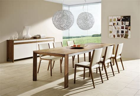 modern wood dining room sets modern dining room furniture