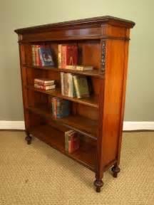 High Quality Bookshelves A High Quality Walnut Bookcase Antiques Atlas