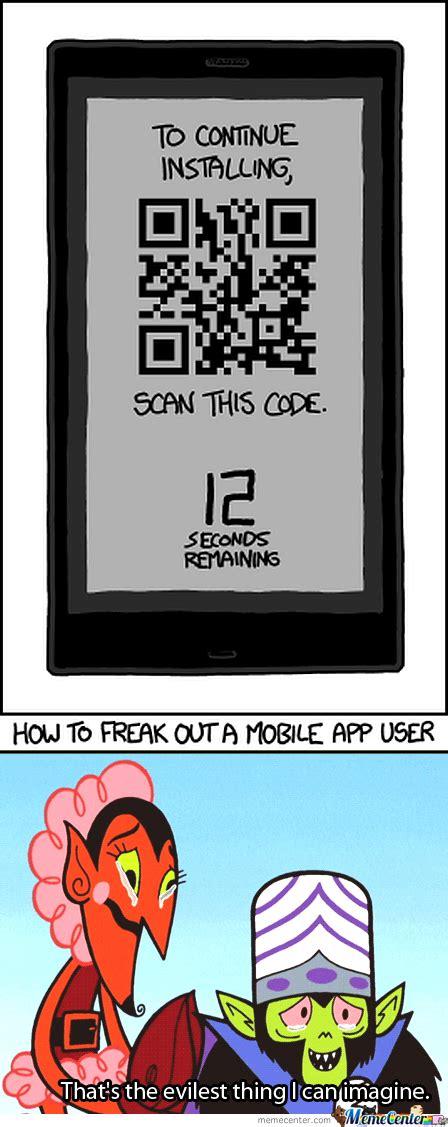Meme Center Mobile App - how to freak out a mobile app user by super troll meme