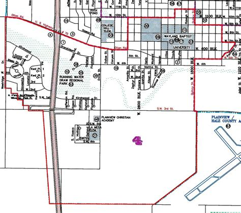 map of plainview texas plainview tx official website district 4
