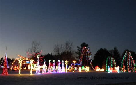 friday night lights seeing christmas displays across