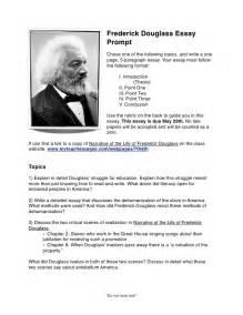 Frederick Douglass Essay by Frederick Douglass Essay Prompt