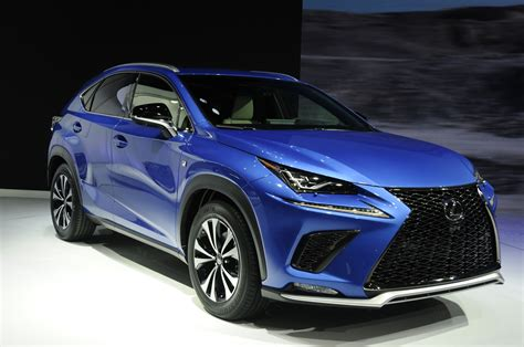 here s the refreshed 2018 lexus nx