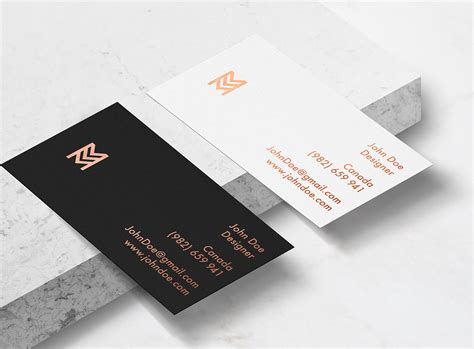 mockup business card template 40 unique free business card psd mockups and templates