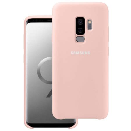 official samsung galaxy s9 plus silicone cover pink