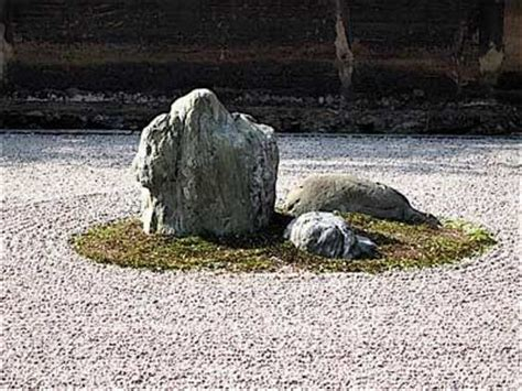 Zen Garden Rock Zen Rock Garden Spirit Balance Enlightenment