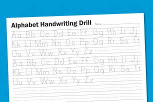 6 best images of free printable alphabet handwriting