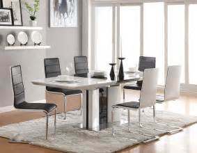 modern style modern dining room table sets broderick
