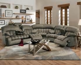 Sectional Sofas With Recliner Jacob Leather Sectional Sofa With Recliners Plushemisphere