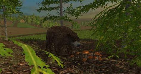 forest animals v 1 0 for fs 2015 farming simulator 2017