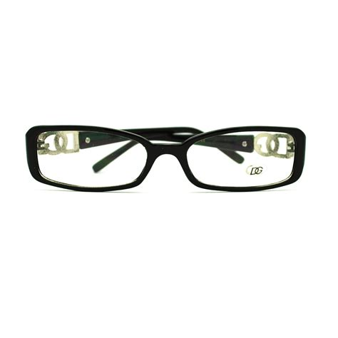 s narrow rectangular plastic frame eye