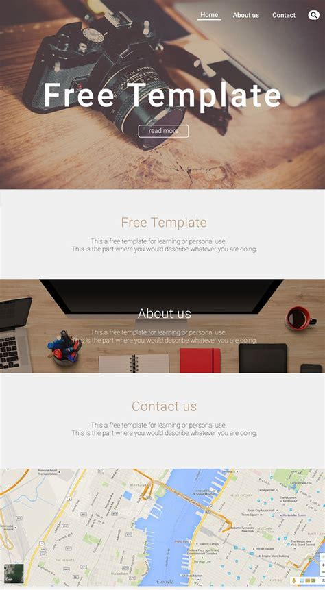 Free Portfolio Website Templates Psd 187 Css Author Personal Portfolio Template Free