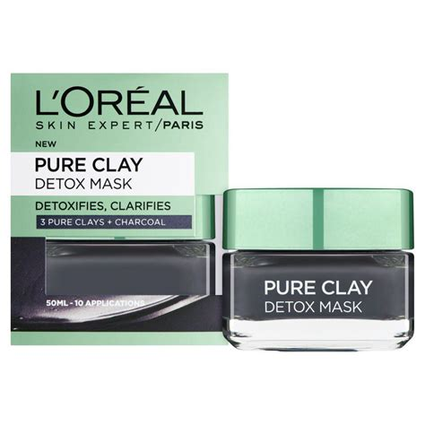 L Oreal Detox Mask Beautypedia by Loreal L Oreal Clay Detox Mask 50ml Buy