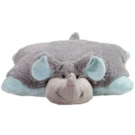 Elephant Pillow Pets by Large Pillow Pets Nutty Elephant Stuffed Animal Grey