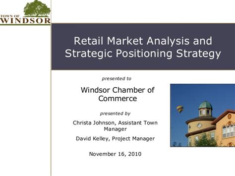 Mba 517 Strategic Planning And Policy Analysis by Chamber Of Commerce Retail Strategy And Market Analysis