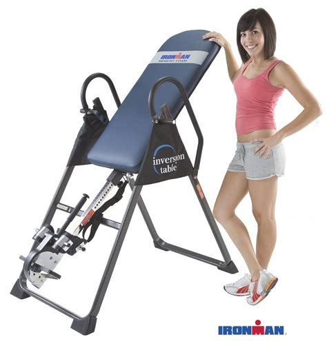 Ironman Inversion Table 4000 by Ironman Gravity 4000 Inversion Table Review