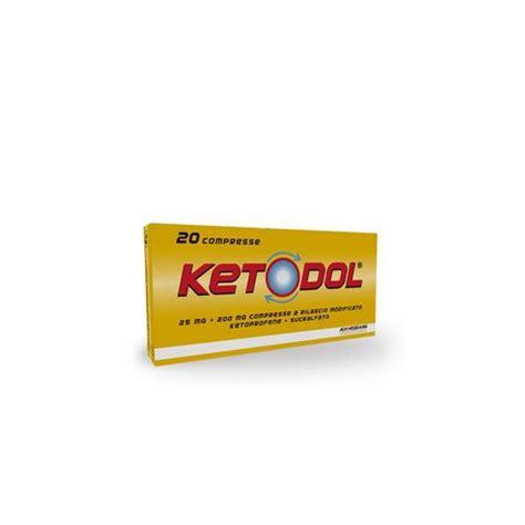 ketoprofene mal di testa ketodol 20 compresse ketoprofene mg 25 sucralfato mg 200