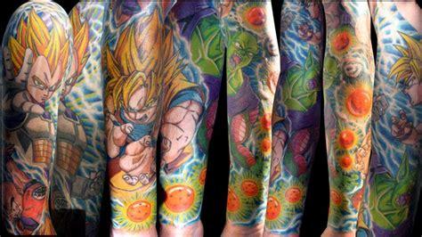dragon ball z tattoo sleeve z search tats