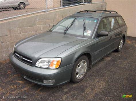 2001 subaru legacy wagon 2001 wintergreen metallic subaru legacy l wagon 55905780