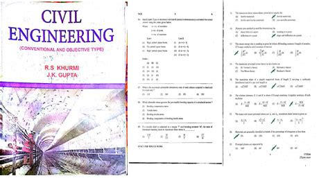 civil engineering conventional and objective type pdf ebook for free
