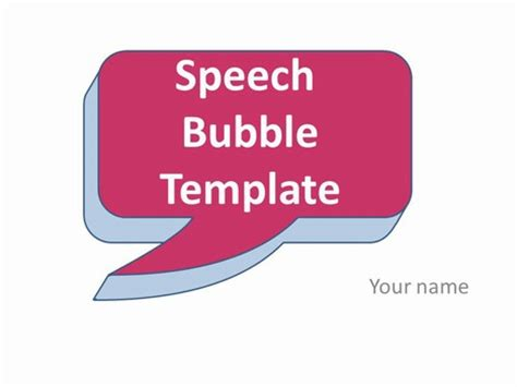 editable speech template speech template