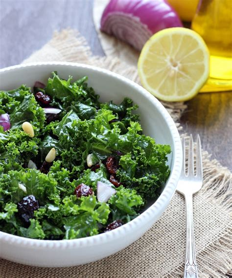 Detox Salad With Lemon Dressing by Detox Kale Salad With Lemon Apple Vinaigrette
