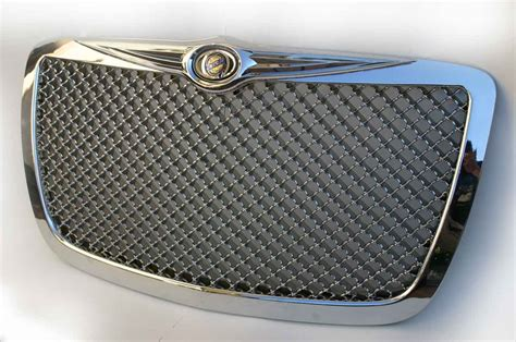 bentley grill chrysler 300 chrome bentley mesh grille