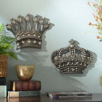 hisher crown silver jeweled wall plaque set   item     home pinterest