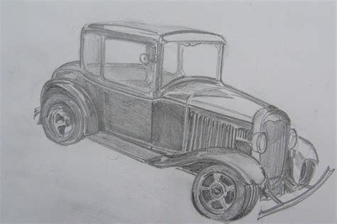 vintage cars drawings drawing of a vintage car richard