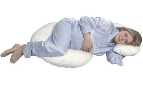 Leachco Total Pregnancy Pillow by Leachco Snoogle Total Pillow Helps Expecting