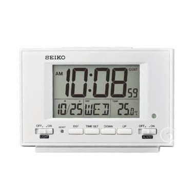 Jual Alarm Digital Clock jual seiko qhl075w digital desktop bedside alarm clock
