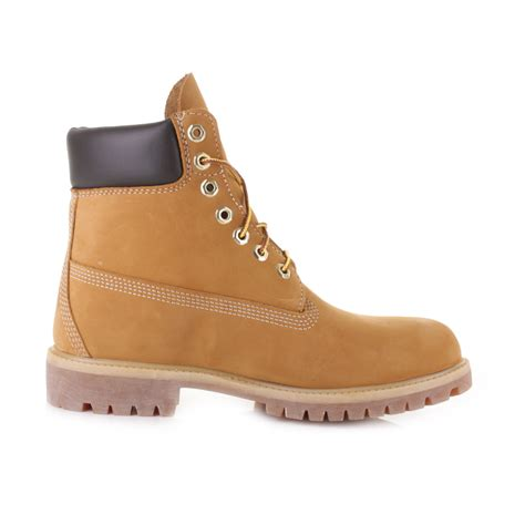 mens timberland boots wheat mens timberland icon 6 inch premium wheat nubuck leather