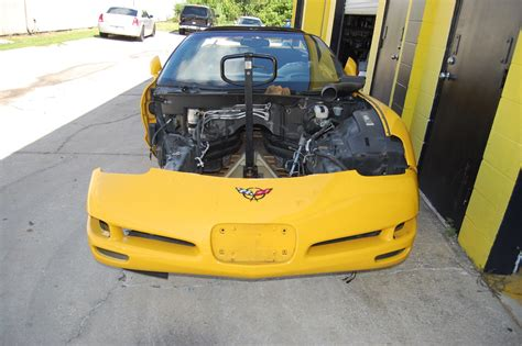 Flaparts Tasteless Titles by Fla Frame W Title 2002 Corvette Unwrecked