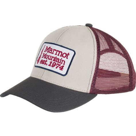 Trucker Hat Trucker 1 marmot retro trucker hat backcountry