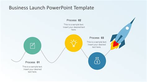 Business Launch Powerpoint Template Slidemodel How To Use A Powerpoint Template
