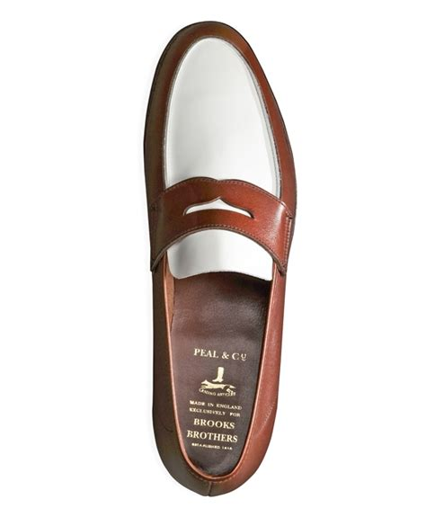 mens spectator loafers the great gatsby collection white and brown spectator