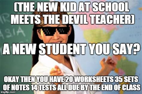 Teacher Meme Generator - scumbag teacher meme generator 28 images unhelpful